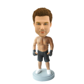 Custom Kickboxing bobble head