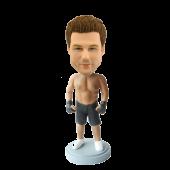 Custom Kickboxing bobble head