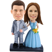 Customised Wedding Bobble head