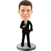 Customized bobblehead Smart Man