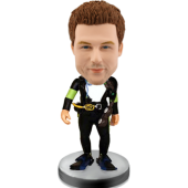Customized bobblehead Frogman