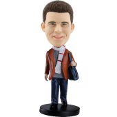 Customized bobblehead Fashion Man