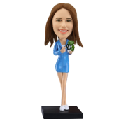 Customized bobblehead Fashion Model
