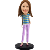 Customized Bobblehead Sexy Lady