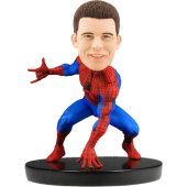Custom Bobblehead Spider-Man