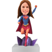 Customized Supergirl Bobbblehead