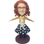 Dancing Girl Custom Bobblehead