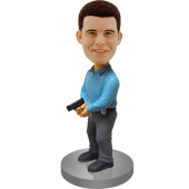 Customised Detective Bobble Head
