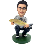 Fishing Buddy Custom Bobblehead