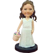 Flower Girl Custom Bobblehead
