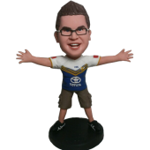 Football Buddy Custom Bobblehead
