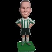 Football Man Custom Bobblehead