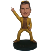 Golden Dancer Custom Bobblehead