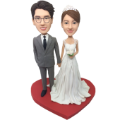 Happy Wedding Bobbleheads