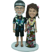 Hawaii Style Wedding Bobbles