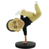 Hip-hop Boy Custom Bobblehead