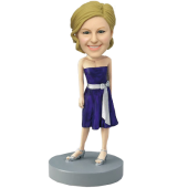 Hyacinthine Dress Bridesmaid Bobblehead
