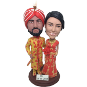 Inidan Wedding Bobbleheads
