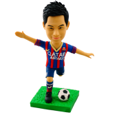 FC Barcelona Football Fan Bobblehead