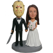 Jason Wedding Custom Bobblehead