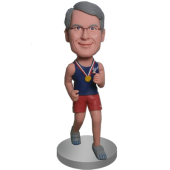 Jogging Buddy Custom Bobble