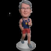 Jogging Buddy Custom Bobble