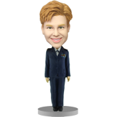 Lady Officer Bobblehead
