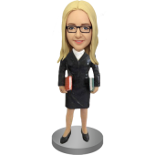 Librarian or Teacher Bobble Head