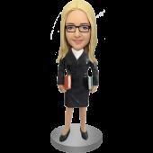Librarian or Teacher Bobble Head