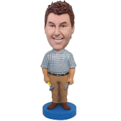 Maintenance Man Bobble Head