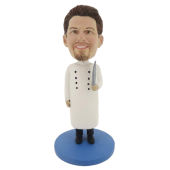 Male Cook Bobblehead