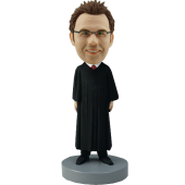 Male Judge Bobble Head
