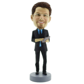 Man with Ipad Bobblehead