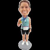 Marathon Winner Custom Bobblehead