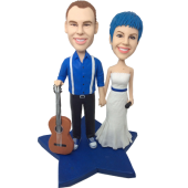 Music Couple Wedding Bobbles