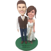 New Couple Wedding Cake Topper