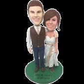 New Couple Wedding Cake Topper