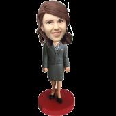 Office Lady Custom Bobble