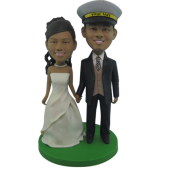 Officer Wedding Bobbleheads