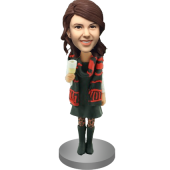 Party Girl Bobblehead