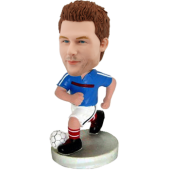 Custom France Football bobble head