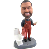 Personalised Plumber Bobble
