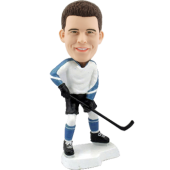 Personalized Bobblehead Ice Hockey
