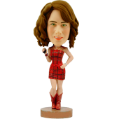 Pretty Girl Custom Bobblehead