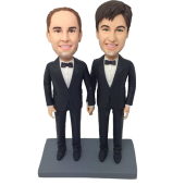 Brothers Cake Topper