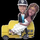 School Bus Driver Wedding Bobbleheads