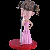 Persoanlised Bobble Head Singer