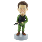 Soldier Bobblehead-2