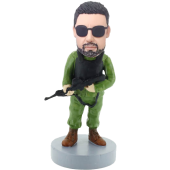 Soldier Custom Bobblehead