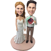 Spider-man Groom Wedding  Bobbleheads